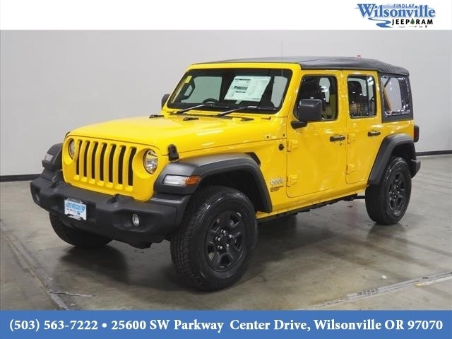 Jeep Wrangler Unlimited Sport >> New 2019 Jeep Wrangler Unlimited Sport Sport Utility In Wilsonville