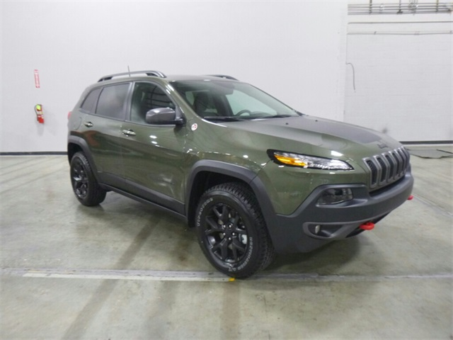 Jeep Wrangler Dealership >> New 2018 Jeep Cherokee Trailhawk Sport Utility in Wilsonville #180237 | Findlay Chrysler Jeep ...