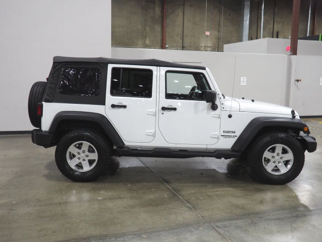 Pre Owned  Jeep Wrangler Unlimited Sport